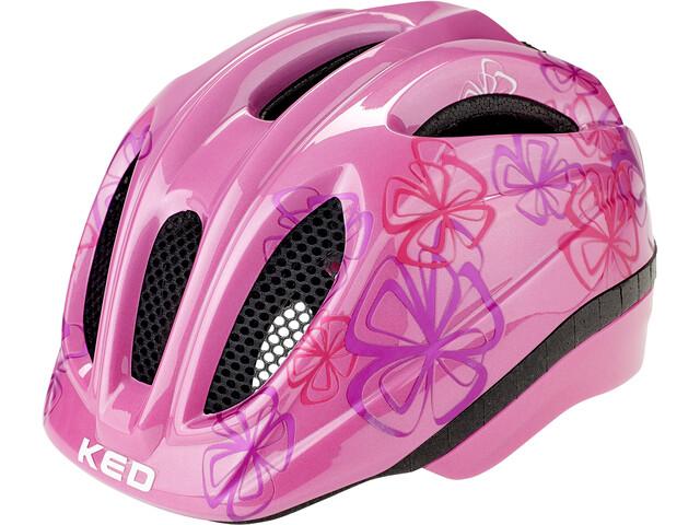 KED Meggy II Trend Fietshelm Kinderen, roze